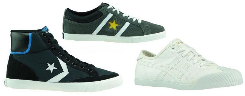 Top! CONVERSE One Star Wildleder und ASICS Sneaker für je Paar nur 19,99€