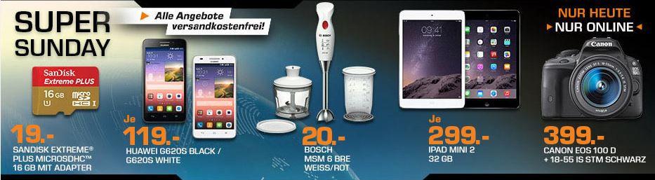 BOSCH MSM6BRE   Stabmixer Set für 20€ und mehr Saturn Super Sunday Angebote