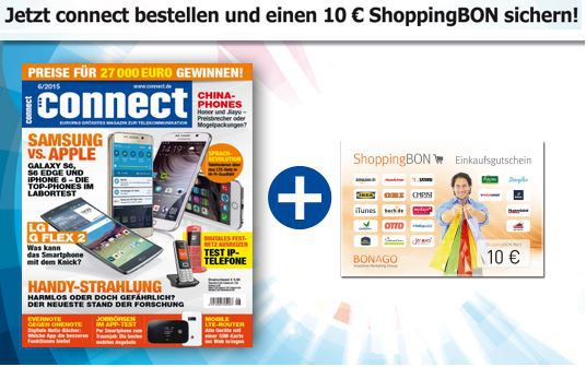 CONNECT mini Abo   4 Ausgaben für 13,90€ + 10€ Gutschein