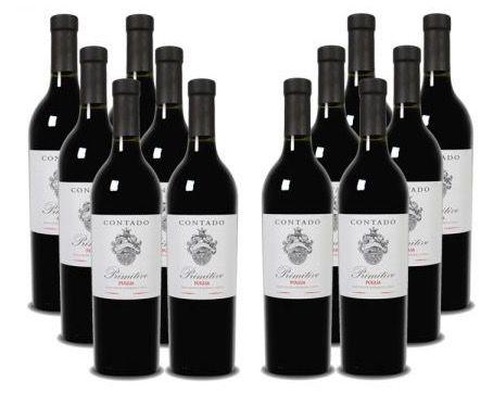 12 Flaschen Contado Primitivo Rotwein für 44,99€