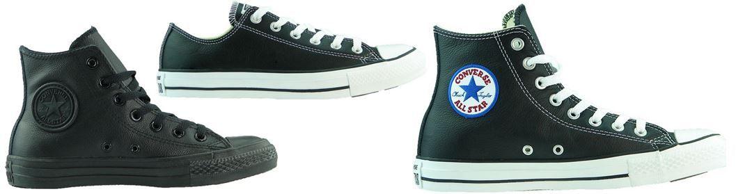 Converse Chucks Leder Sneaker Unisex 36 bis 45 für ja Paar 59,99€