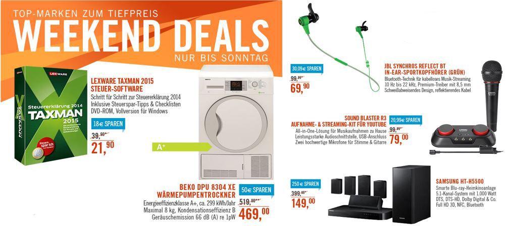 Beko DPU 8304 XE Wärmepumpentrockner A+ für 469€ bei den Cyberport Weekend Deals