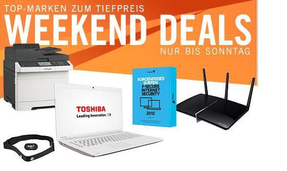 Cyberweekend1 Toshiba Satellite C70 B 33E   17 Zoll Notebook i3 4005U für effektiv 429€ bei den Cyberport Weekend Deals