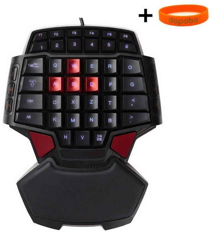 Preisfehler: Delux T9 Mini Game Pad Spieltastatur mit Backlight für 2€