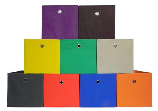 Faltbox Einschubkorb Oslo in verschiedenen Farben für je 1€