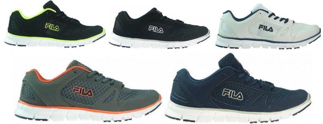 FILA Cyclone Run   Damen & Herren Sneaker   5 Farben Größe 40 46 für je Paar 29,99€