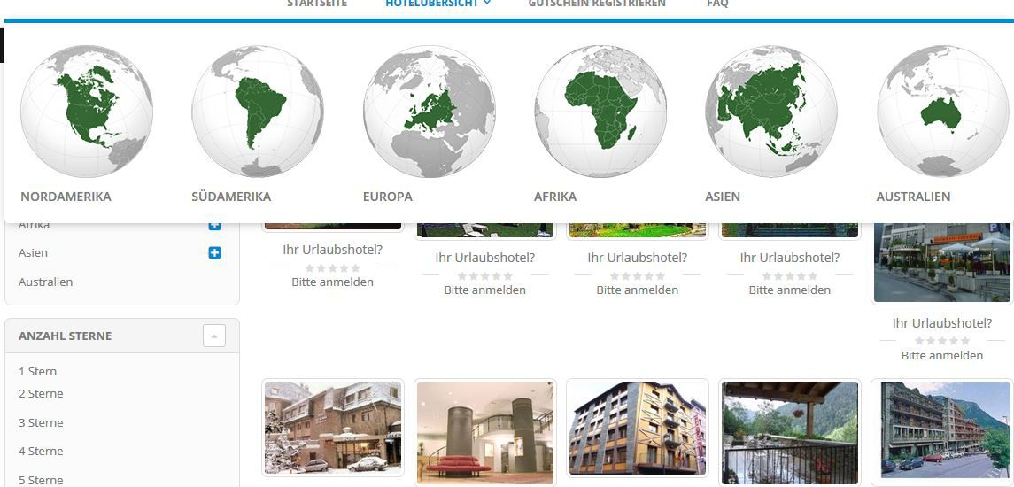 Flexibreaks1 7Tage für 2Personen in ca. 1.700 Hotels in über 40 Ländern für 24,90 € ( + Verpflegungspauschale)