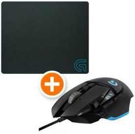 Top! Logitech Proteus Core G502 Gaming Maus + Logitech G240 Cloth Gaming Mauspad für 39€ (statt 85€)