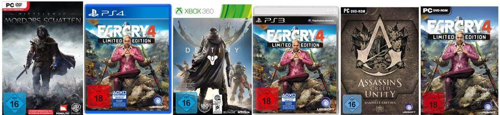 Games Angebot