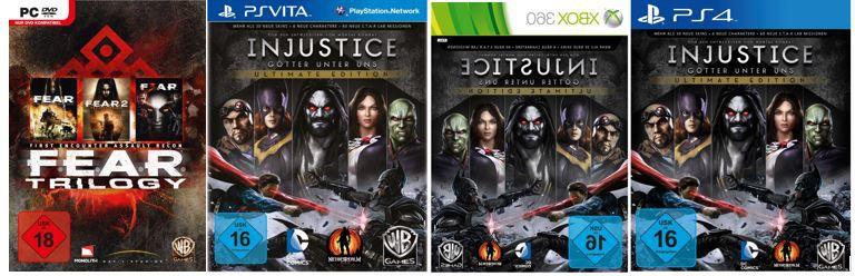 Games Angebote Injustice   Ultimate Edition für Konsolen ab 14,97€   bei den 31 Amazon Top Blitzangeboten ab 18Uhr