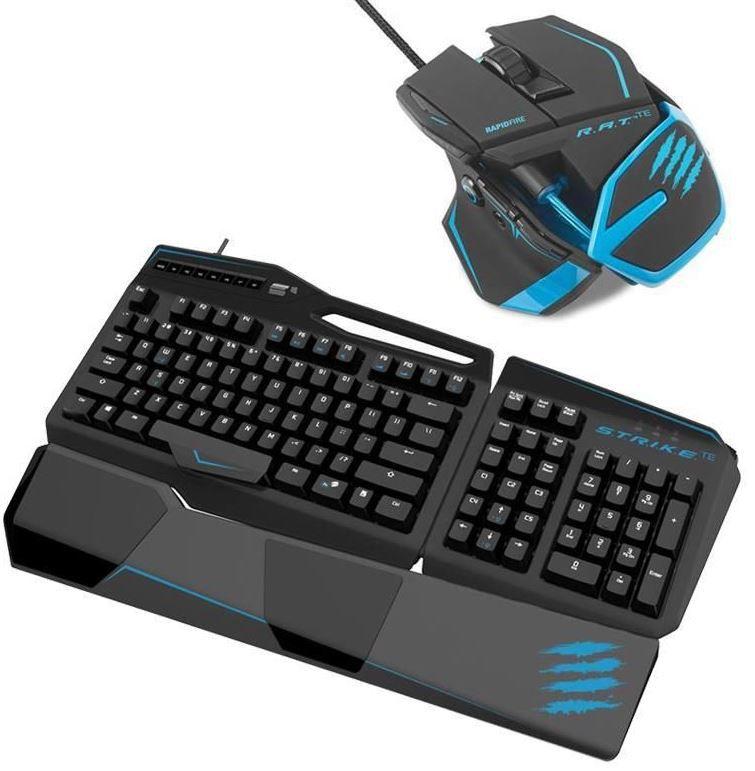 Mad Catz Tournament Bundle: RAT TE Gaming Maus + STRIKE TE Tastaturt für zusammen 99,99€