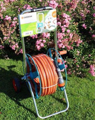 Gardena Schlauchwagen 02677 20 Gardena Schlauchwagen 02677 20 mit 30 Meter Schlauch für 54,95€