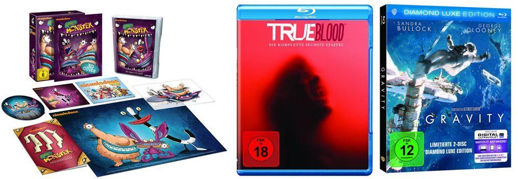Gravity   Diamond Luxe Edition ab 9,97€ bei den Amazon DVD und Blu ray Angeboten der Woche