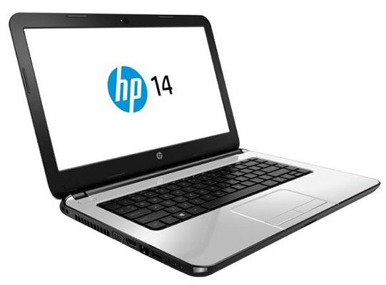 HP 14 r100ng   14 Zoll Einsteiger Notebook (2,66 GHz, 4GB Ram, 500GB, Win 8.1) für 269€
