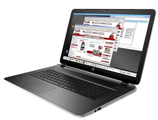 HP 17 f212ng   17 Zoll Einsteiger Notebook (2,1 GHz, 4GB Ram, 500GB, ohne OS) für 239€