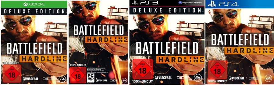 Hardline Battlefield Hardline für Konsolen und PC ab 36,97€   bei den 34 Amazon Blitzangeboten ab 18Uhr