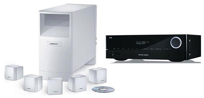 Harman Kardon AVR 171 Harman Kardon AVR 171 7.2 AV Receiver + Bose Acoustimass 6 5.1 Lautsprecher System für 849€