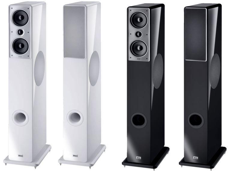 Heco Music Colors 200   Standlautsprecher schwarz oder weiß je Paar ab 372€   Update!