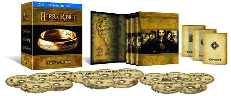 Herr der Ringe   Extended Version Blu ray + inkl. DVD ab 32,99€