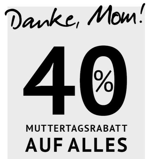 Hoodboyz Muttertag Rabatt Knaller! 40% auf alles bei den Hoodboyz   auch auf Premium Marken wie Adidas, Jack & Jones, S.Oliver   Update