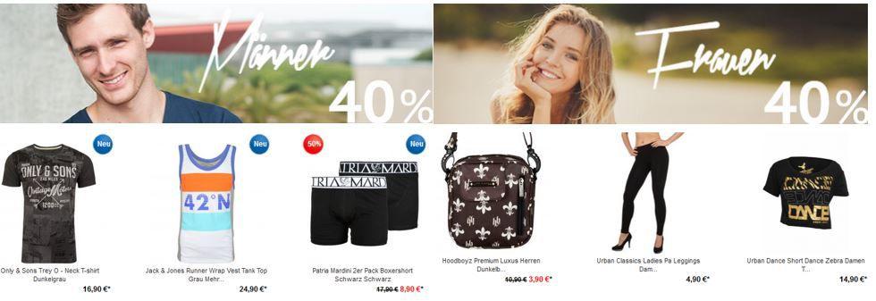 Hoodboyz Muttertag Rabatt1 Knaller! 40% auf alles bei den Hoodboyz   auch auf Premium Marken wie Adidas, Jack & Jones, S.Oliver   Update