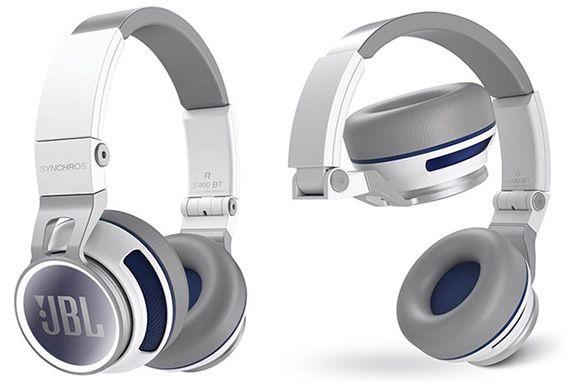 JBL Synchros 400BT JBL Synchros 400BT Bluetooth On Ear Kopfhörer mit NFC für 160,29€