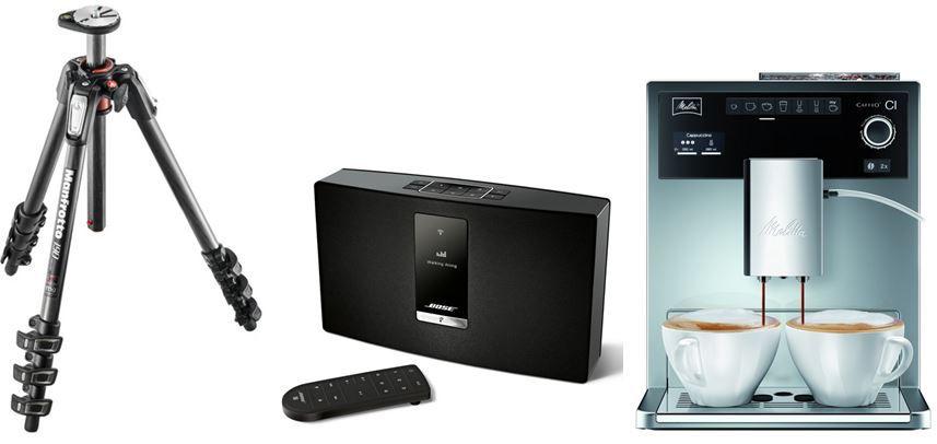 Kaffeemaschine Bose SoundTouch   Portable Serie II WiFi Music System für 299€   bei den 40 Amazon Blitzangeboten ab 18Uhr