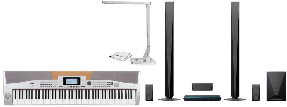 Klavier Angebot Sony BDV E4100 5.1 Blu ray Heimkinosystem für 279€   bei den 54 Amazon Blitzangeboten ab 18Uhr