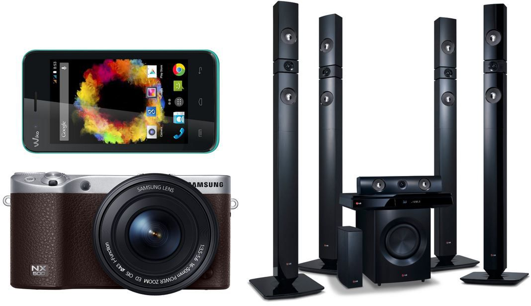 LG 3D Blu ray System Wiko Sunset Einsteiger Smartphone für 59,99€   bei den 31 TOP! Amazon Blitzangeboten ab 18Uhr