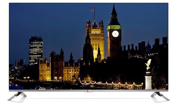 LG 50LB676V   50 Zoll 3D Full HD Fernseher mit WLAN und Triple Tuner für 594,15€