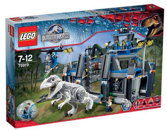 Lego Jurassic World   Ausbruch des Indominus Rex für 88,99€