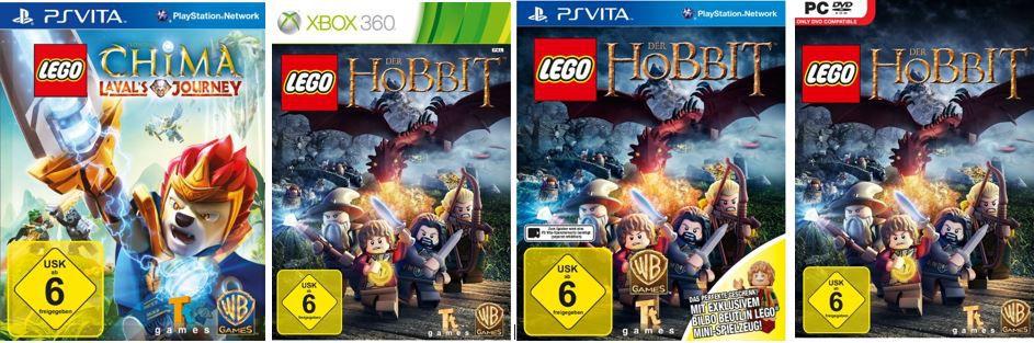 LEGO Der Hobbit (Xbox, PC und PS Vita) ab 12,97€   bei den 41 Amazon Blitzangeboten ab 18Uhr