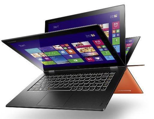 Lenovo IdeaPad Yoga 2   13Zoll Convertible Ultrabook mit i3 CPU und 128GB SSD für 499€
