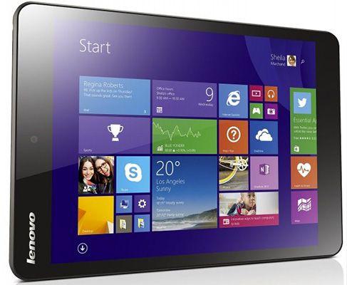 Lenovo Miix 3 830 80JB0009GF   7,8 Zoll Tablet mit Windows 8.1 + Office 365 Lizenz für 111€