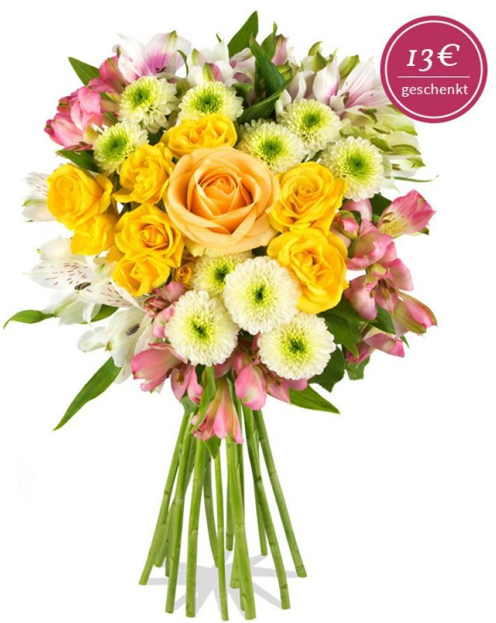 Pink Country Blumenstrauss by Miflora für nur 17,80€   Update!