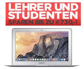 MacBook Air 11   für Schüler, Studenten und Lehrer ab 569€   dank Mactrade Rabatt Aktion   Update