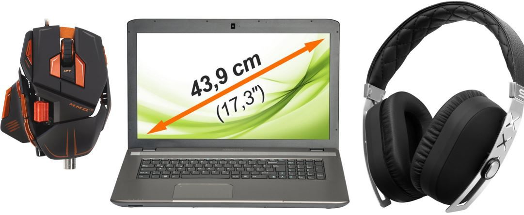 MEDION AKOYA E7225   17,3 Zoll Notebook für 319,99€   bei den 61 Amazon Blitzangeboten ab 18Uhr
