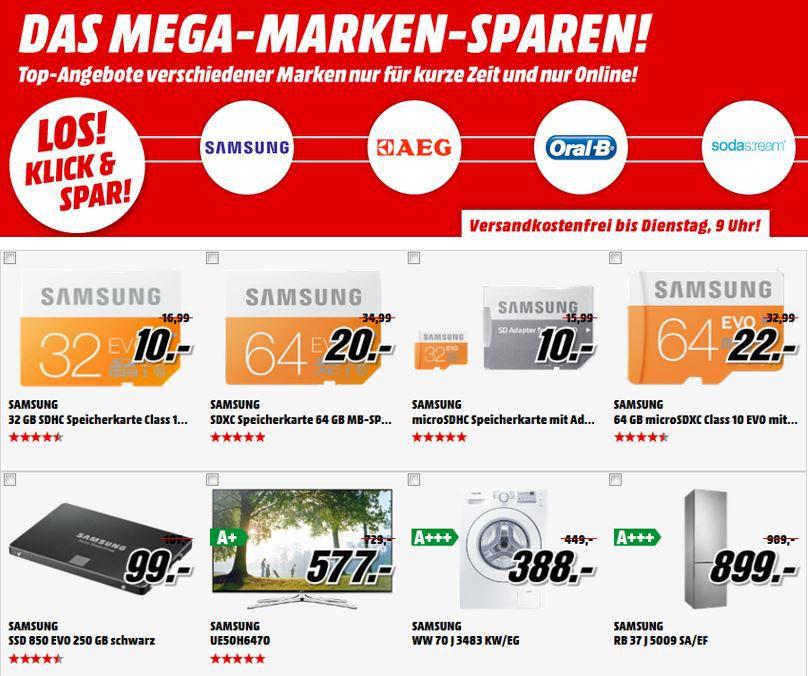 SAMSUNG GC 200 Digital Kamera + Tab3 Lite für 222€ beim Media Markt Mega Marken Sparen   Update
