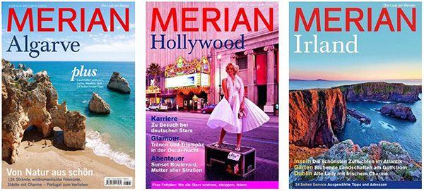 Merian Reisemagazine Merian Reisemagazine und Reiseführer für 2,99€