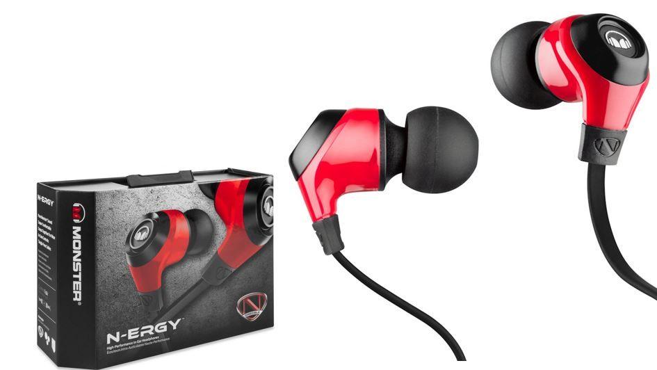 Monster N ERGY   InEar Kopfhörer mit ControlTalk Universal für 19,95€