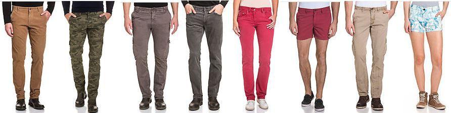 Napapijri   15 Modelle Damen und Herren Hosen in verschiednen Farben gür je 19,95€