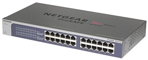 Netgear JGS524E 200EUS Netgear JGS524E 200EUS ProSafe 24 Port Gigabit Ethernet Switch für 99€