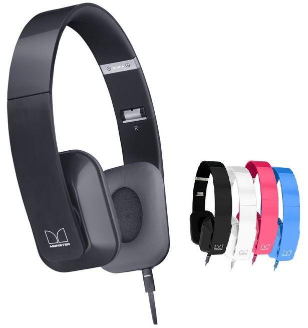 Nokia Purity HD Stereo Kopfhörer Headset by Monster für 39,90€