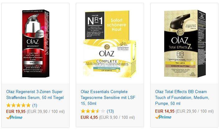 Kostenlos ein Olaz Produkt Testen @Amazon   Update