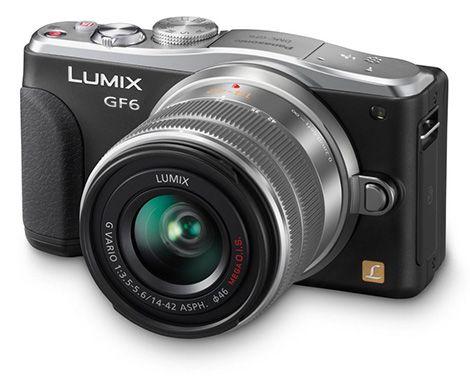 Panasonic Lumix DMC GF6KEG9K Systemkamera für 299€   16 Megapixel, 3 Zoll Display, 14 42mm Objektiv