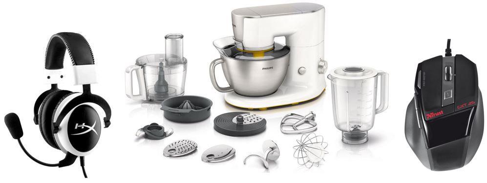 Philips Küchenmaschine Philips HR7954/00 Küchenmaschine   bei den 49 Amazon Blitzangeboten bis 11Uhr