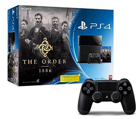 Playstation 4 + The Order: 1886 + 2. Controller für 404,43€