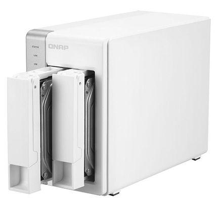 QNAP TS 231+ QNAP TS 231+ 2 Bay NAS ohne Festplatten für 209,90€