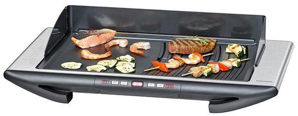 Rommelsbacher BBQ 2012/E Tischgrill mit 2 Grillzonen für 149€