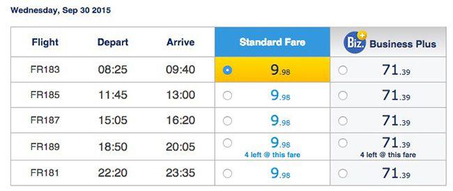 Ryanair Flüge ab September 2015 von Köln/Bonn nach Berlin Schönefeld ab 9,98€